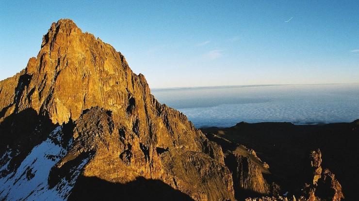 le mont Kenya